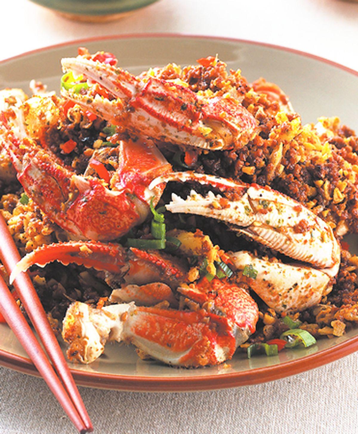 食譜:避風塘蟹腳