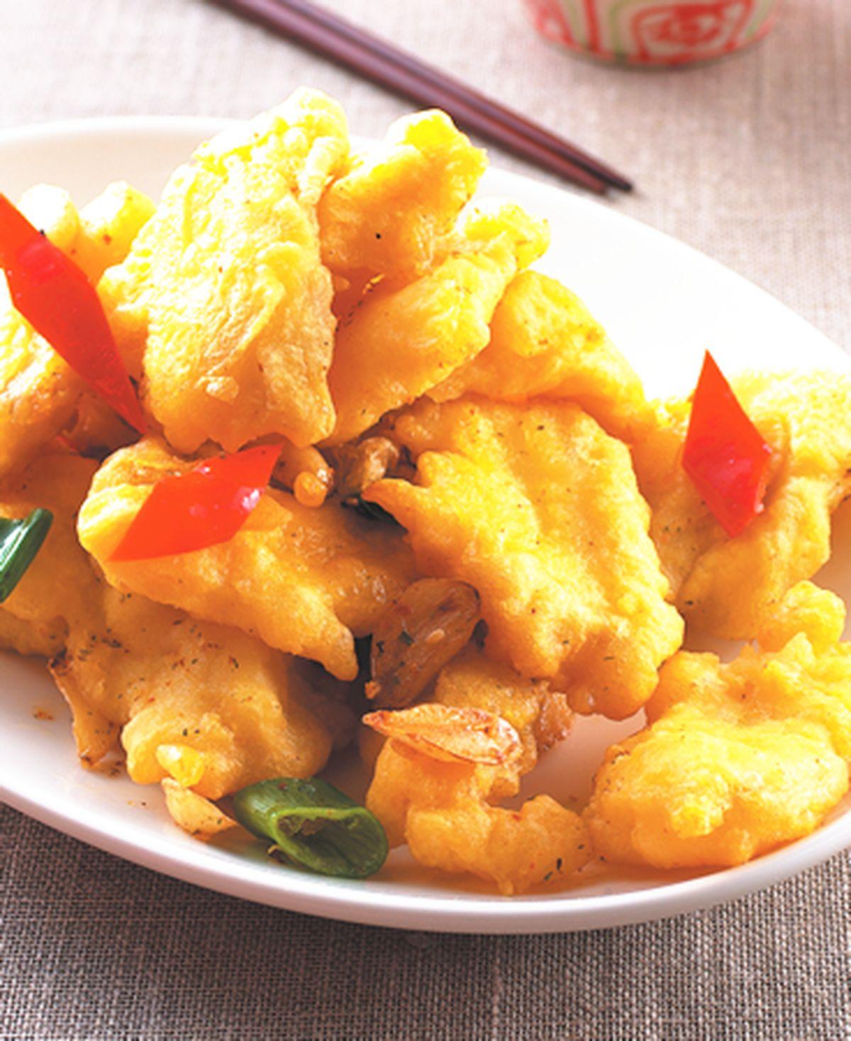 食譜:香蒜鯛魚片