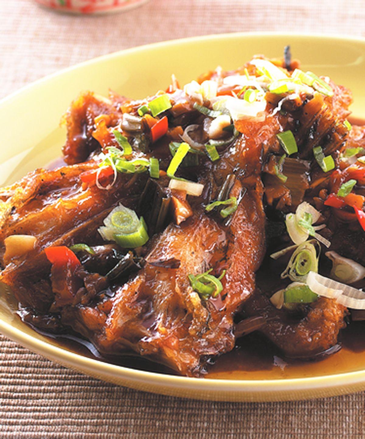 食譜:乾燒魚下巴(1)