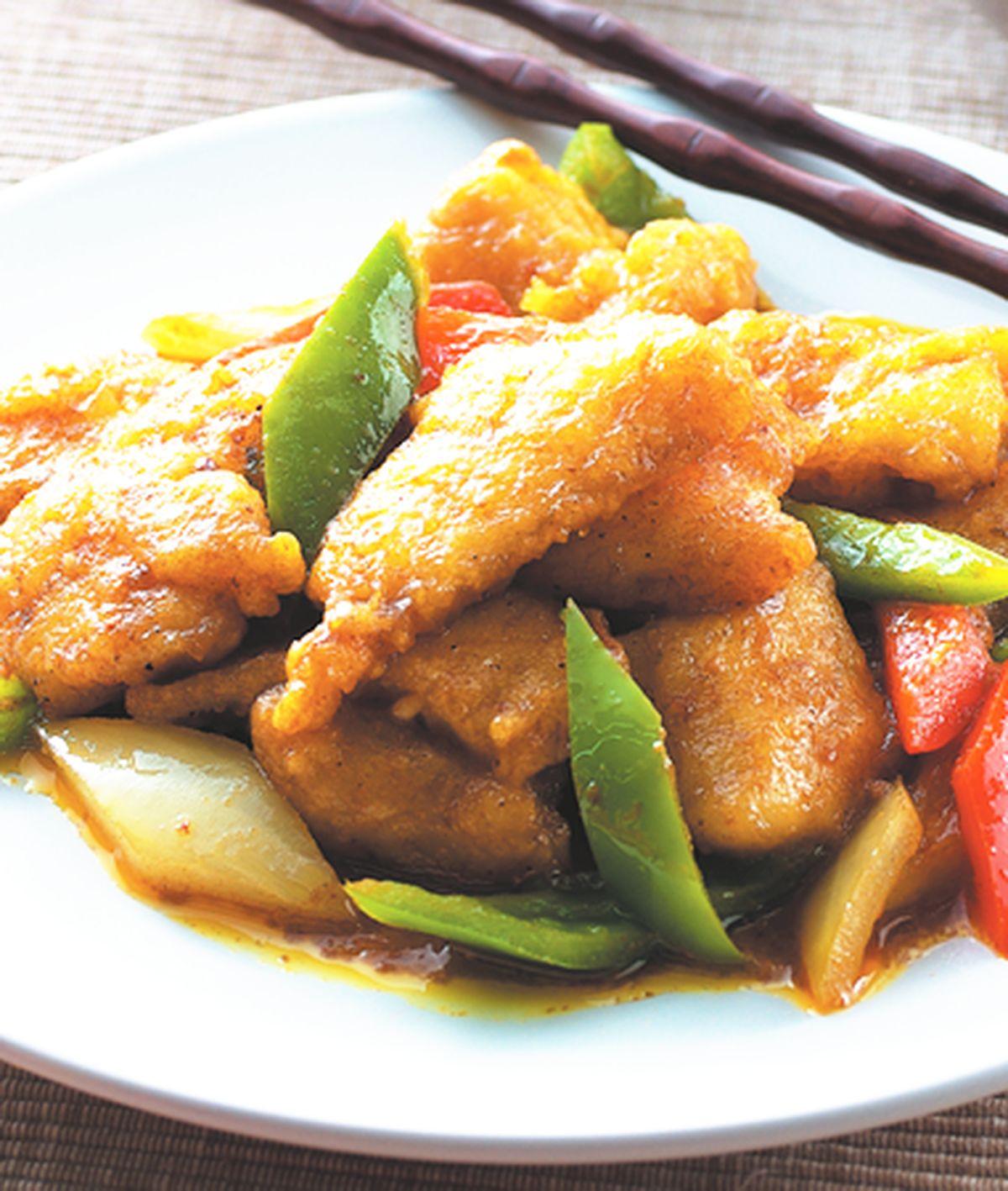 食譜:沙嗲咖哩魚