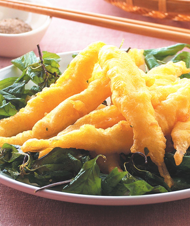 食譜:酥炸水晶魚(1)