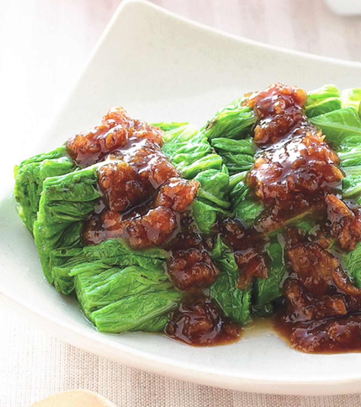 食譜:香蔥燙青菜