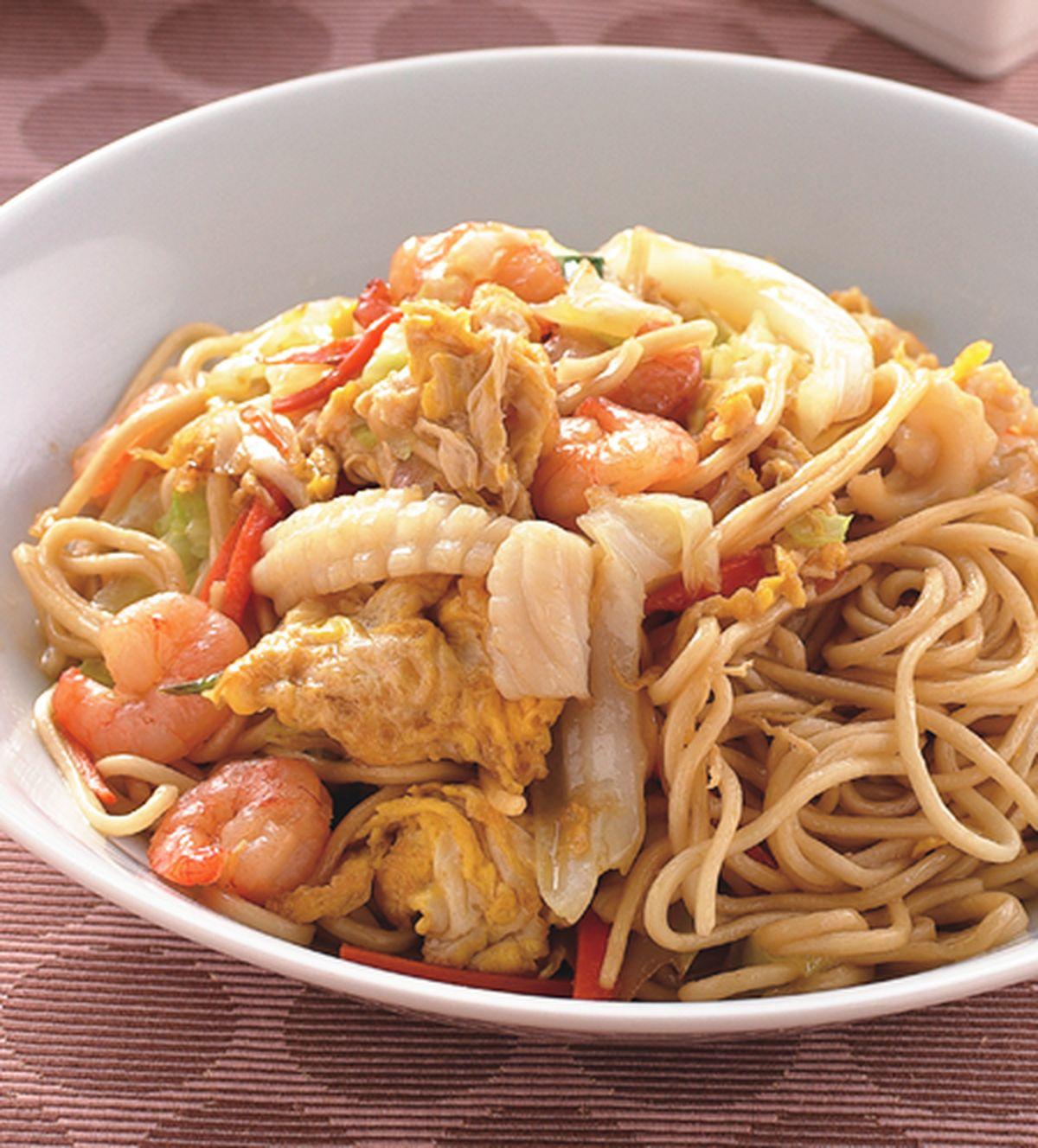 食譜:海鮮炒麵(2)