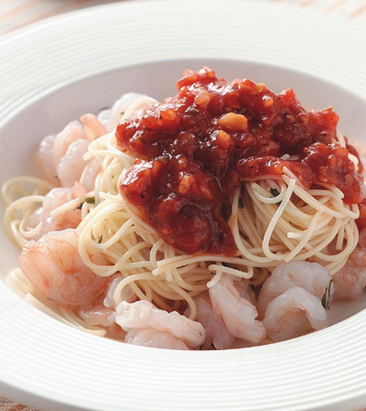 食譜:鮮蝦義大利涼麵