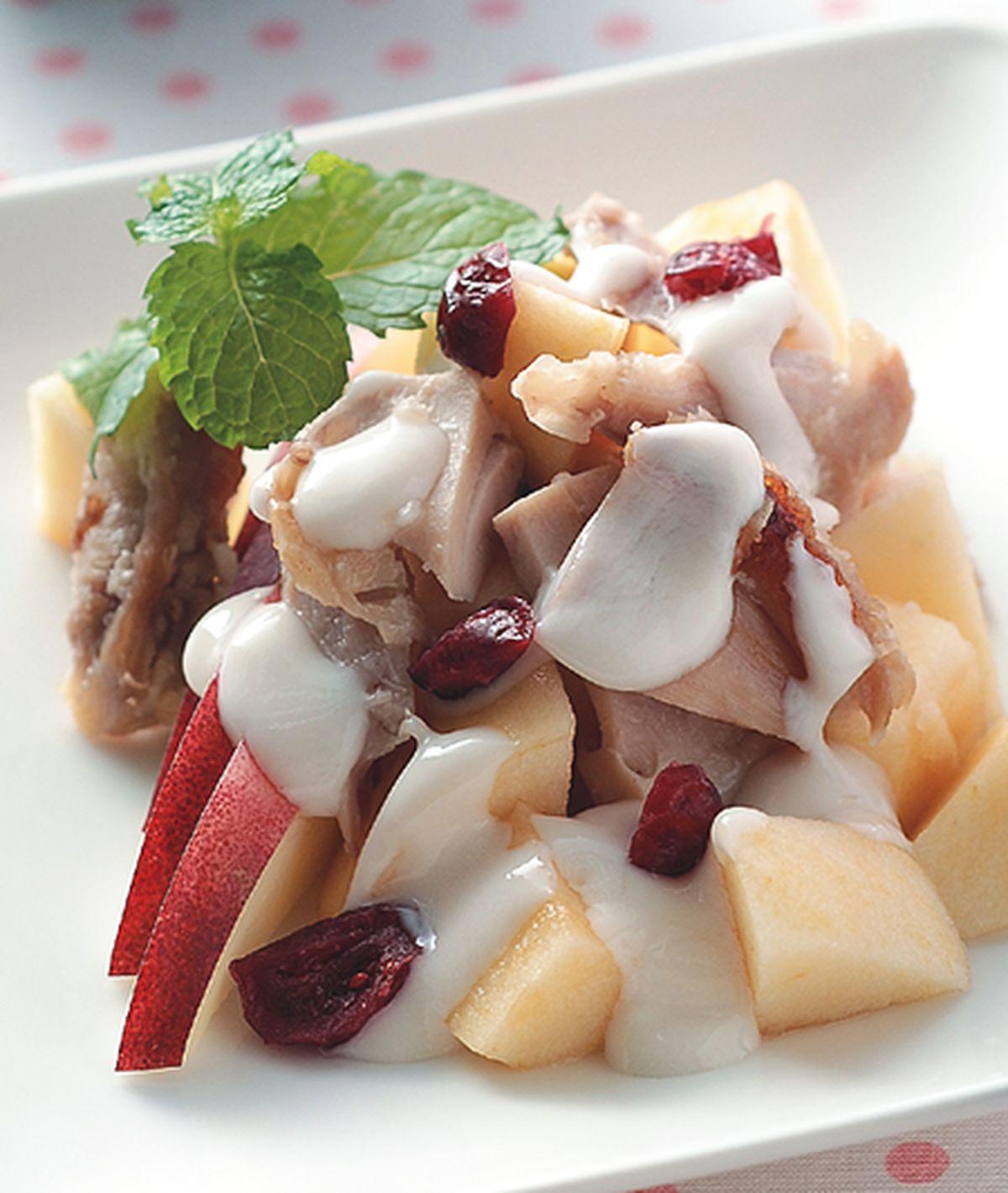 食譜:雞肉蘋果沙拉