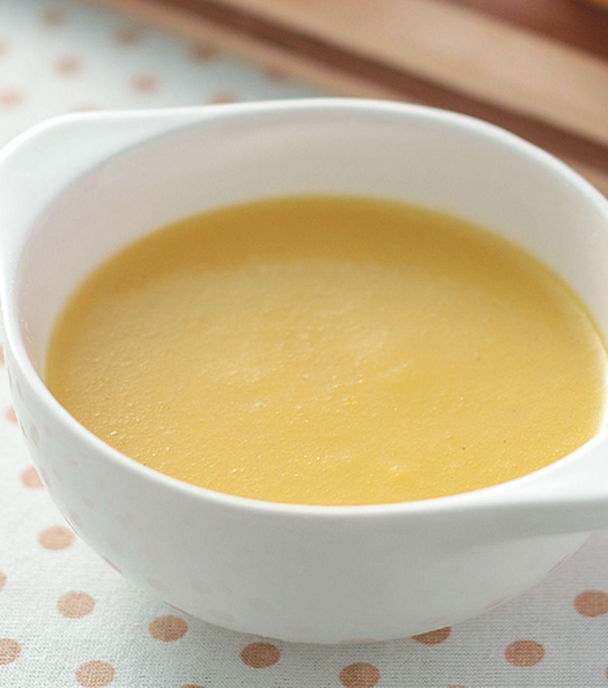 食譜:黃甜椒淋醬