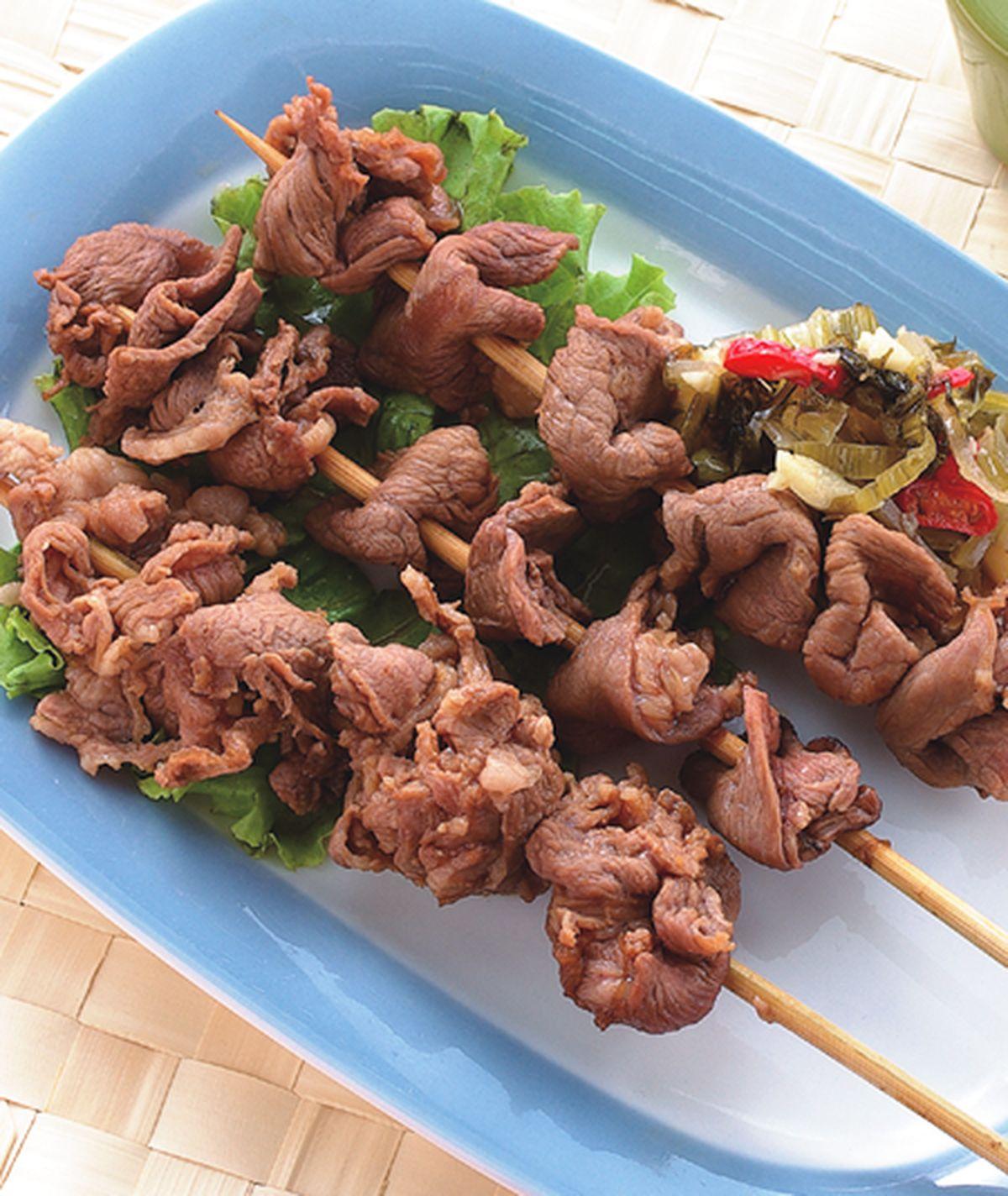 食譜:牛肉串
