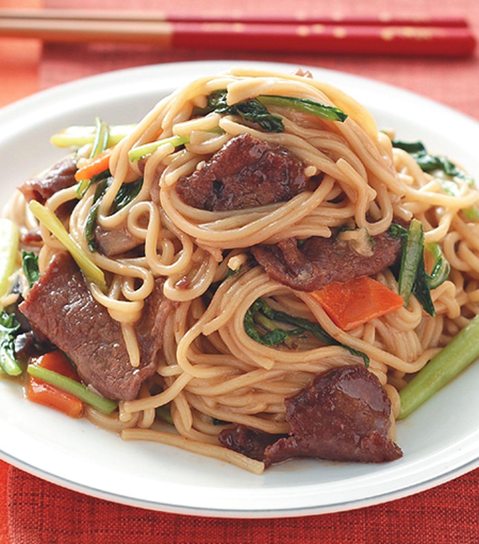 食譜:牛肉炒麵