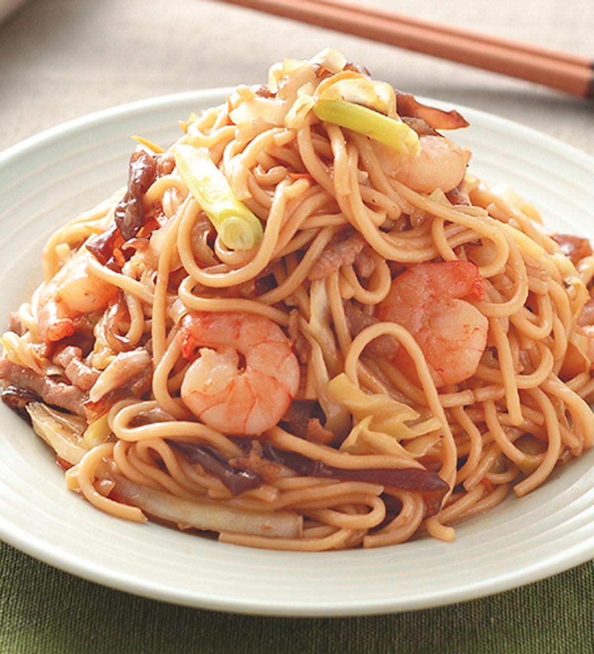 食譜:什錦炒麵(1)