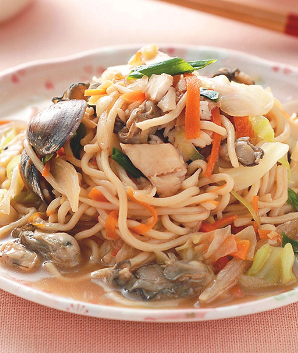 食譜:海鮮炒麵(3)