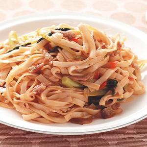 魚香肉絲炒麵
