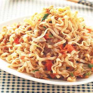 沙嗲牛肉炒麵