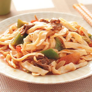 新疆風味炒麵