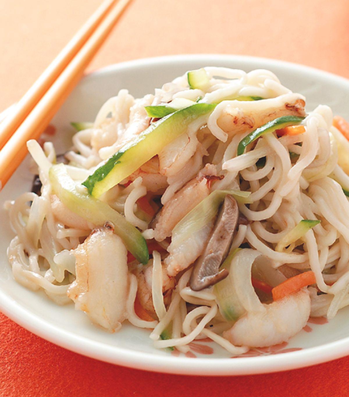 食譜:蟹肉炒麵