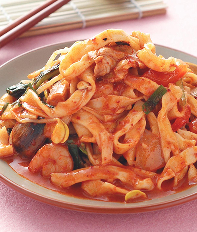 食譜:韓國炒碼麵