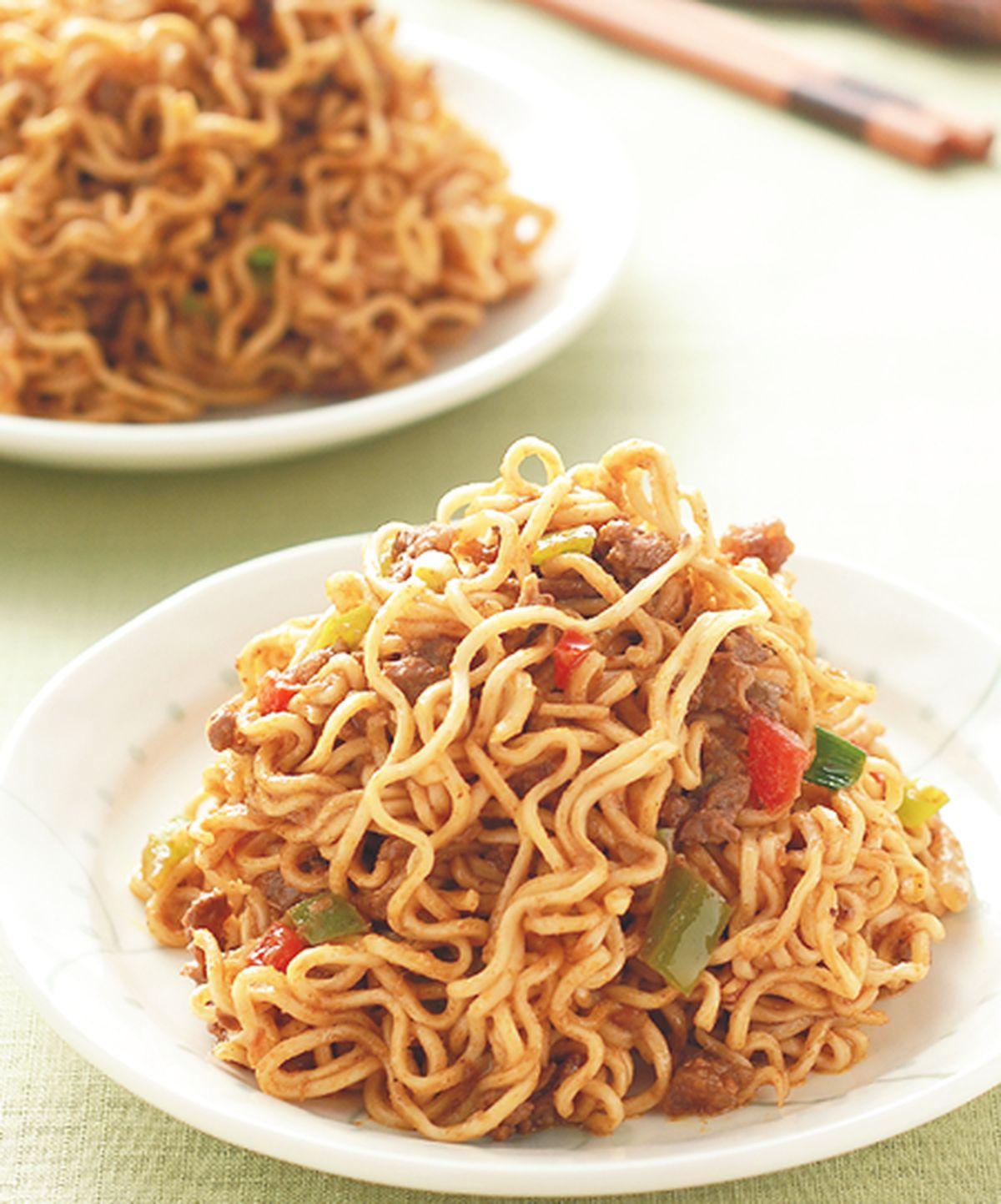 食譜:印尼沙嗲炒麵