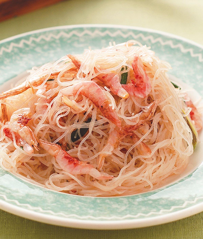 食譜:櫻花蝦炒米粉