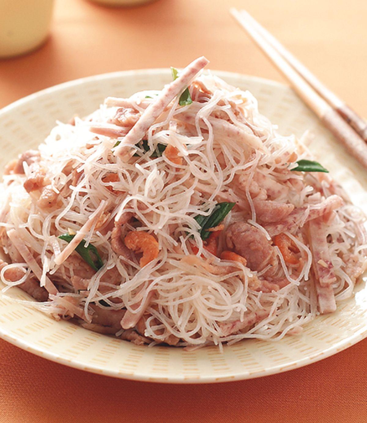 食譜:芋頭肉絲炒米粉