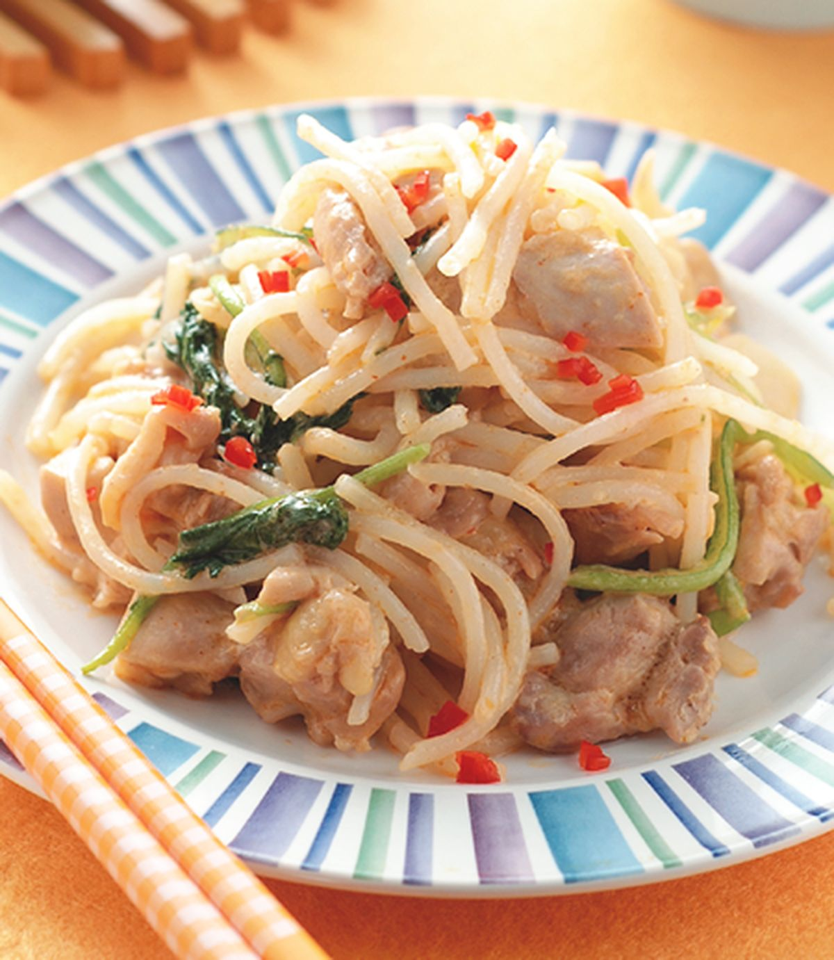 食譜:咖哩椰汁雞炒米粉