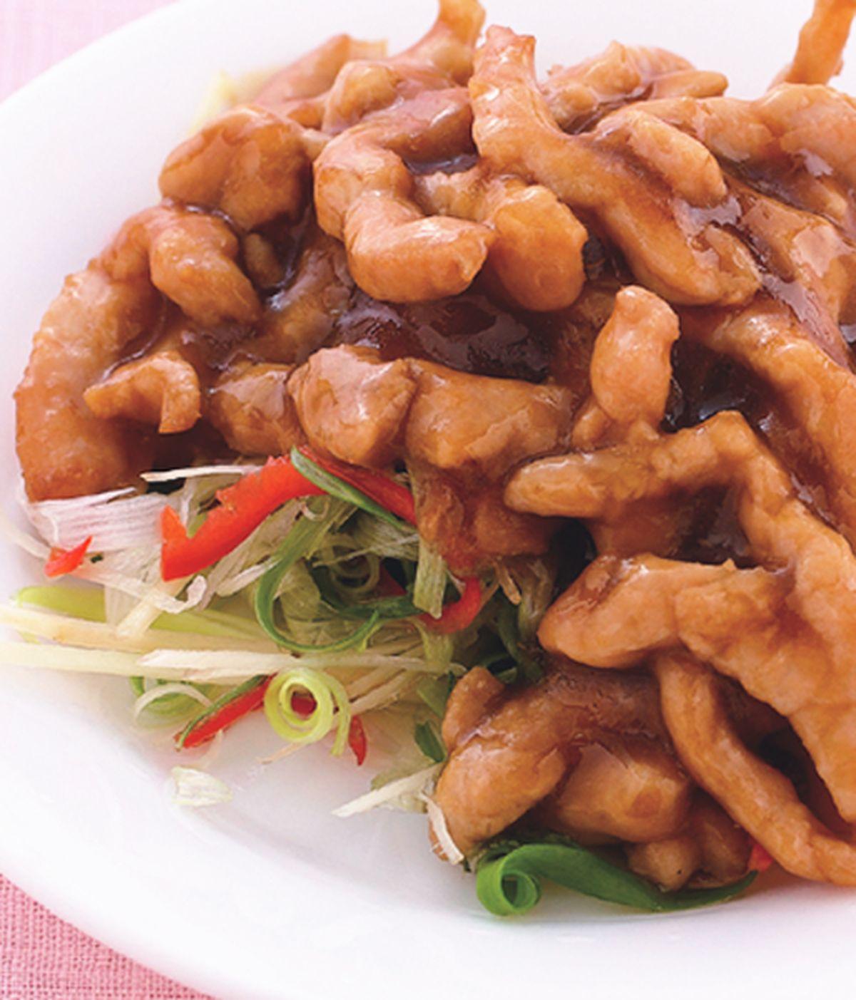 食譜:京醬肉絲(2)