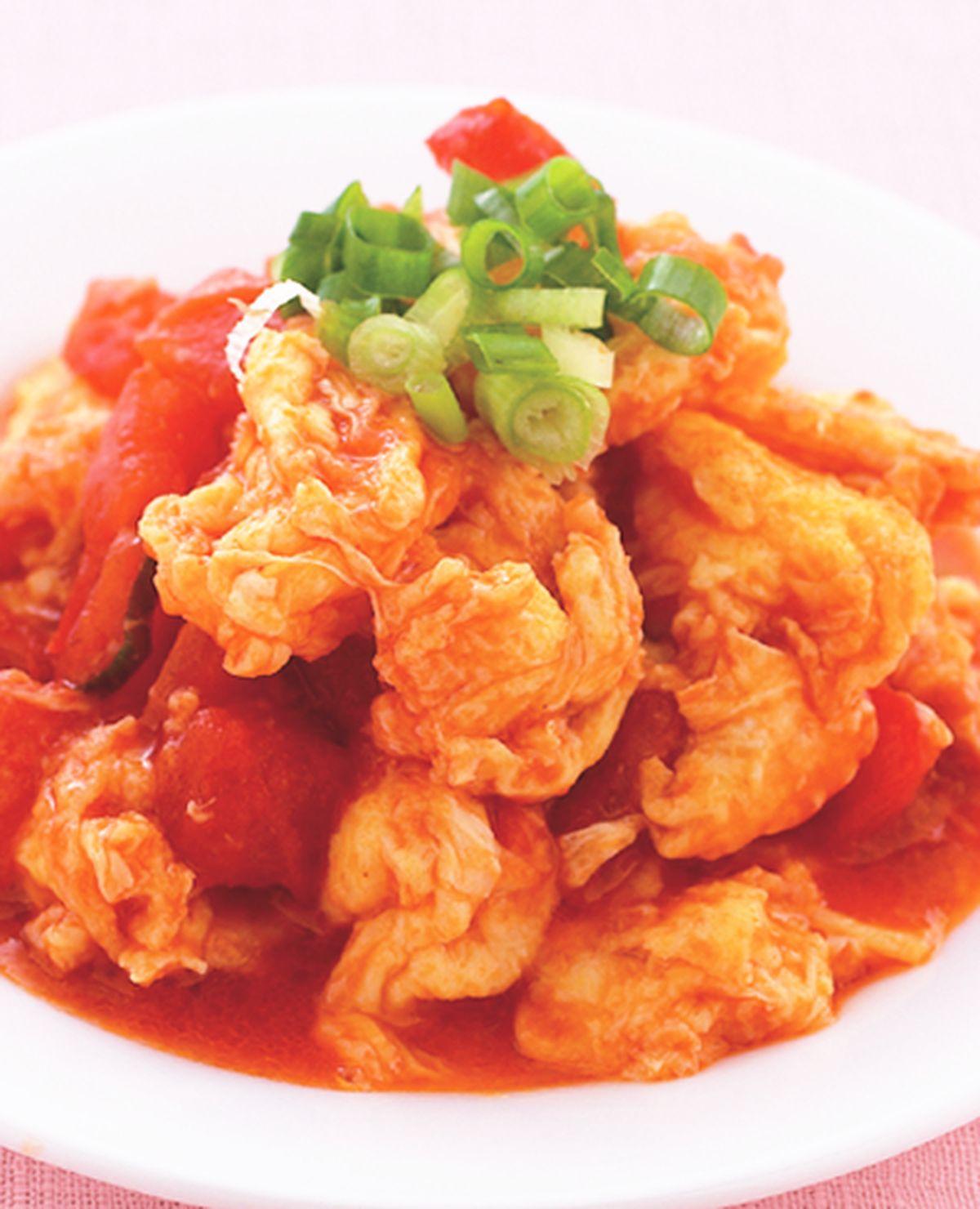 食譜:蕃茄炒蛋(1)
