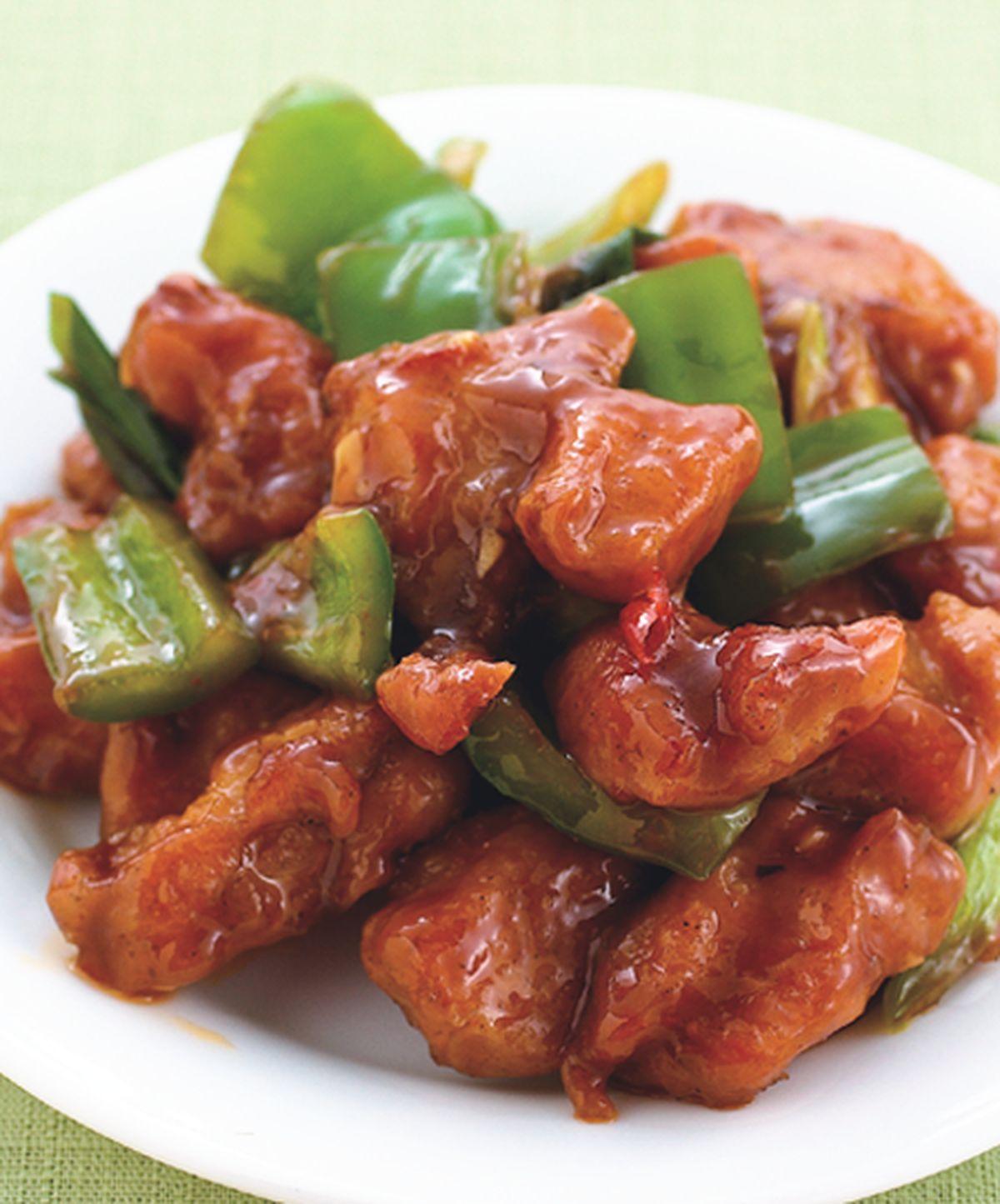 食譜:醬爆雞丁(2)