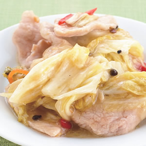 泡菜炒肉片(2)