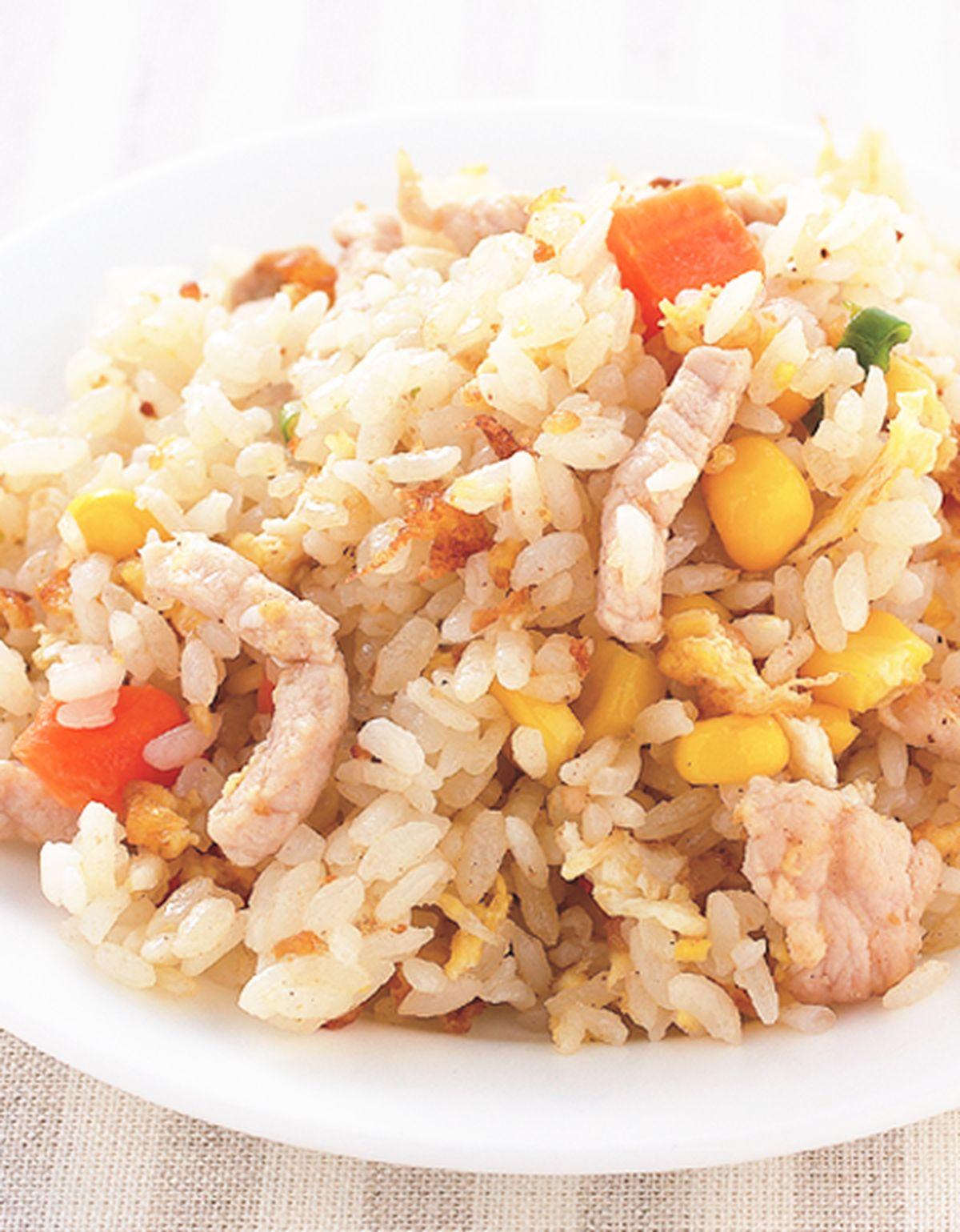 食譜:肉絲蛋炒飯