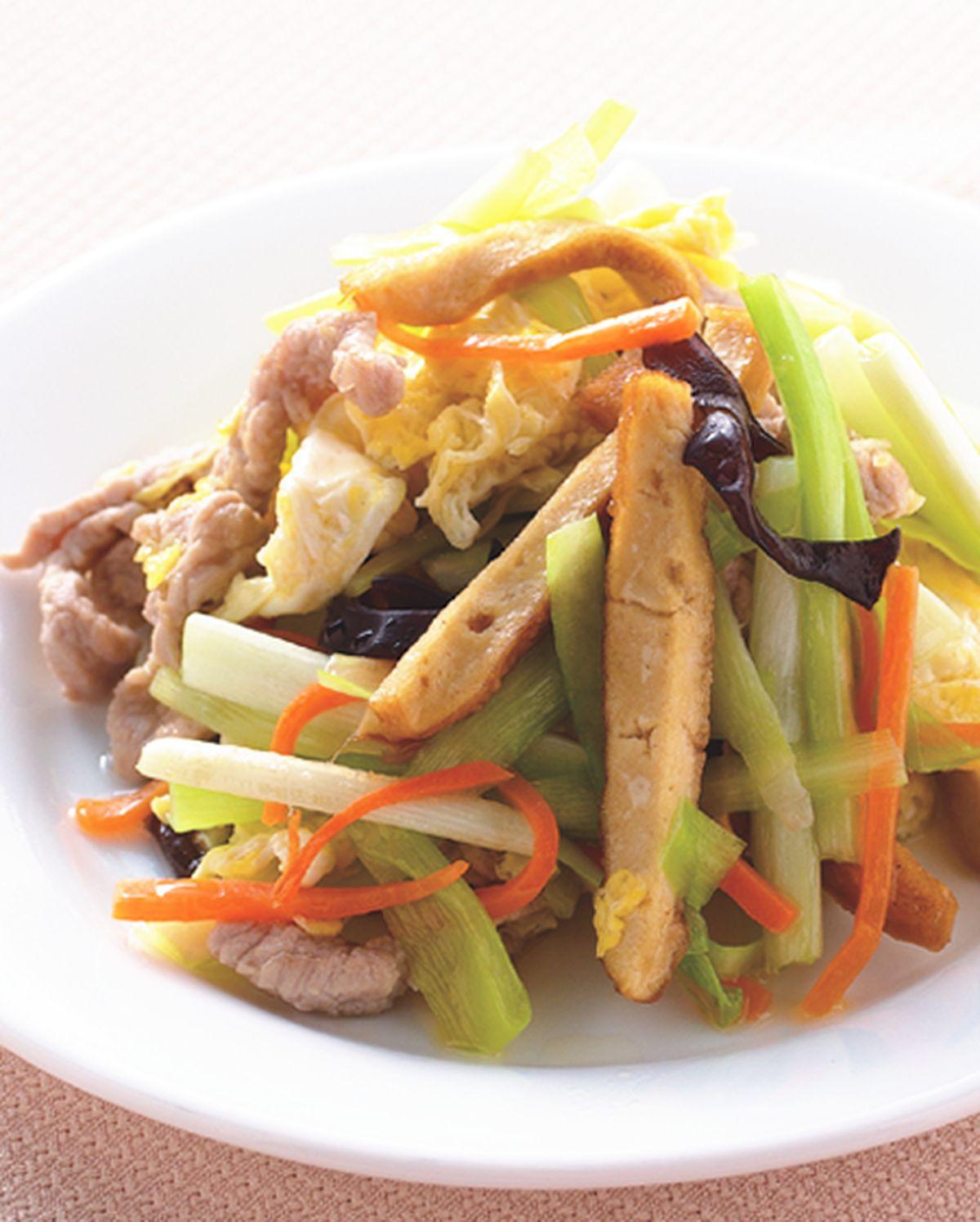 食譜:炒木須肉