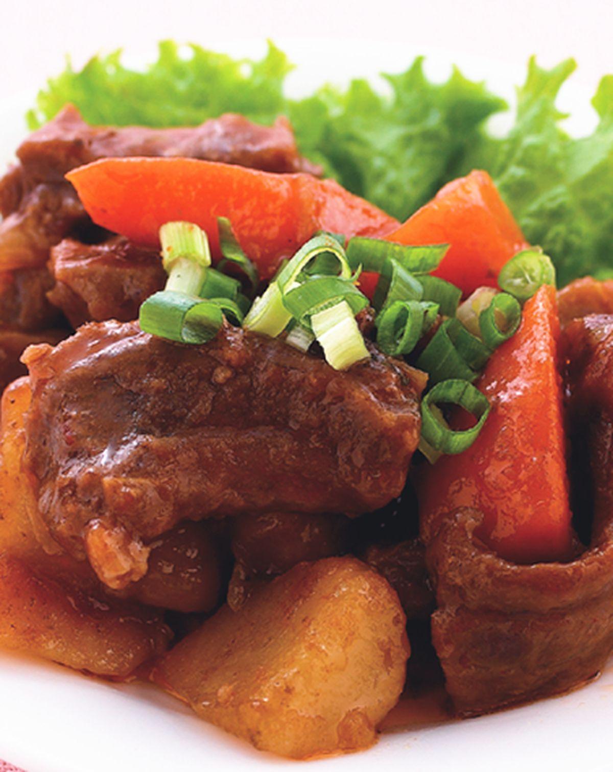 食譜:紅燒牛腩(5)