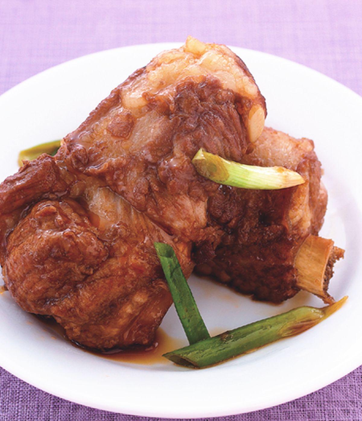 食譜:蔥燒排骨(4)