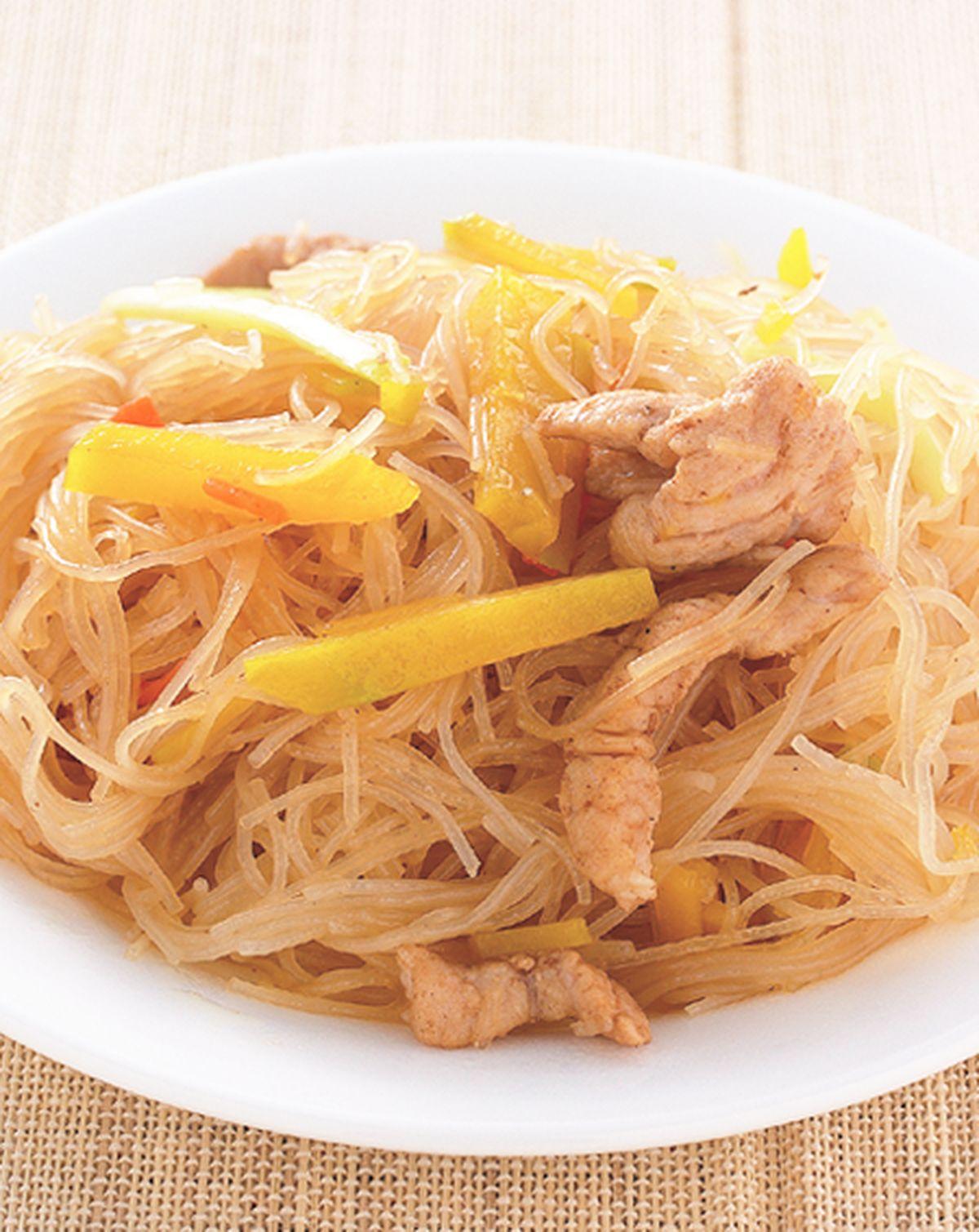 食譜:金瓜炒米粉