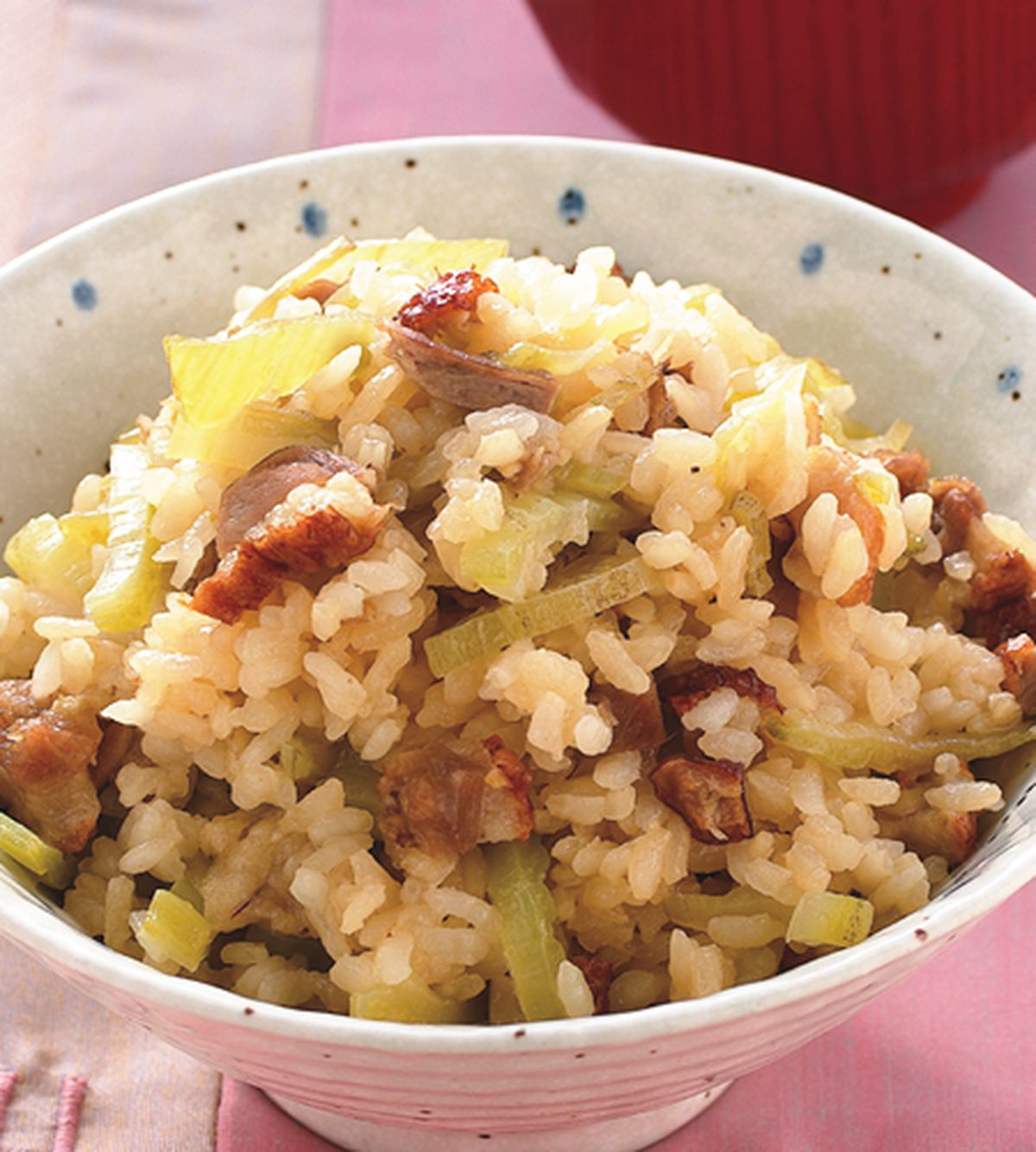 食譜:烤鴨芥菜飯