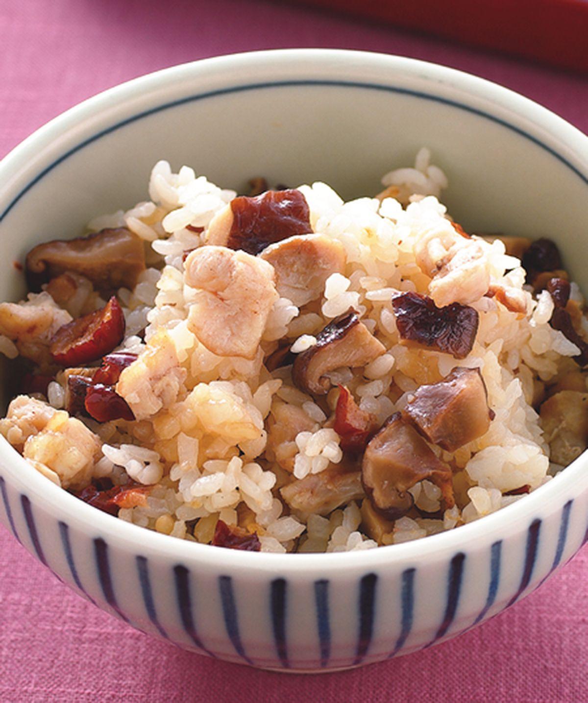 食譜:香菇雞肉飯