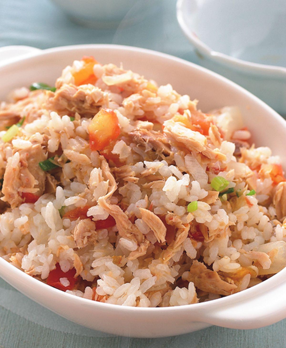 食譜:蕃茄鮪魚飯