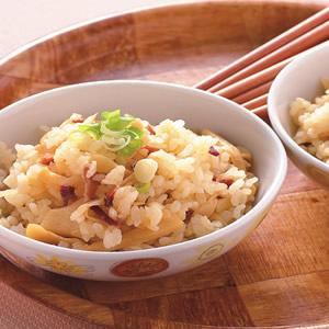火腿筍絲飯