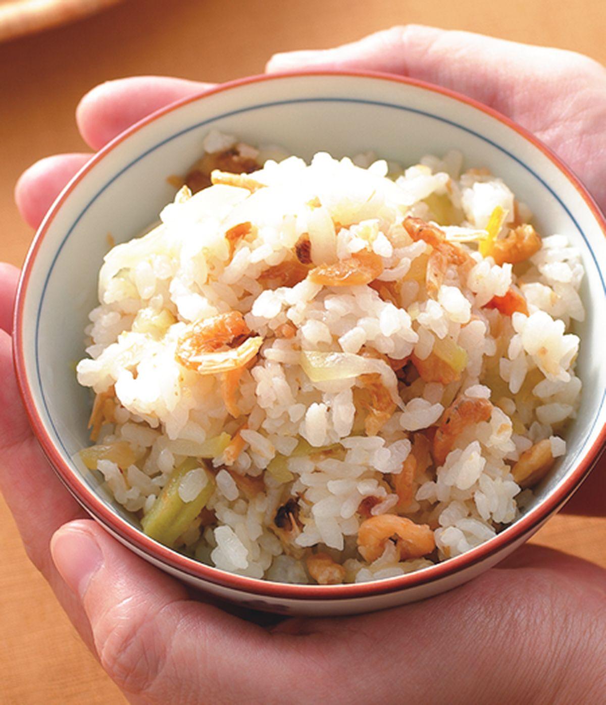 食譜:胡瓜蝦米飯