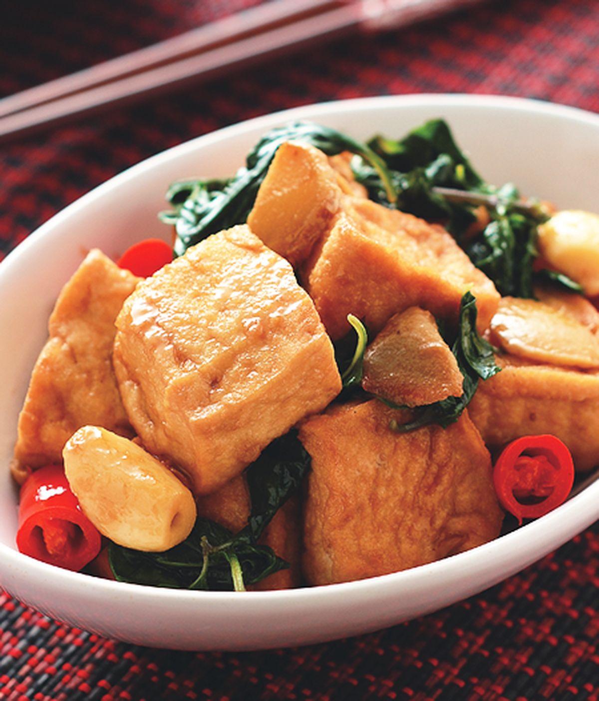食譜:三杯豆腐