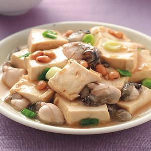 豆醬蚵仔豆腐