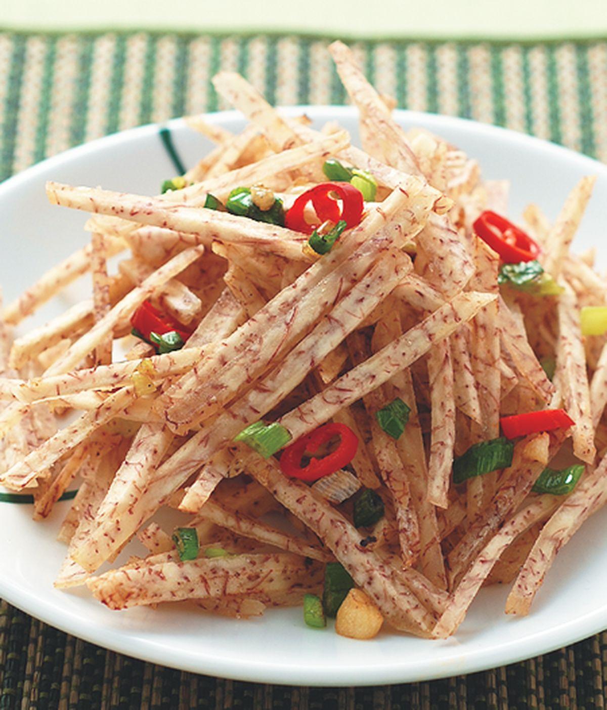 食譜:鹹酥芋絲