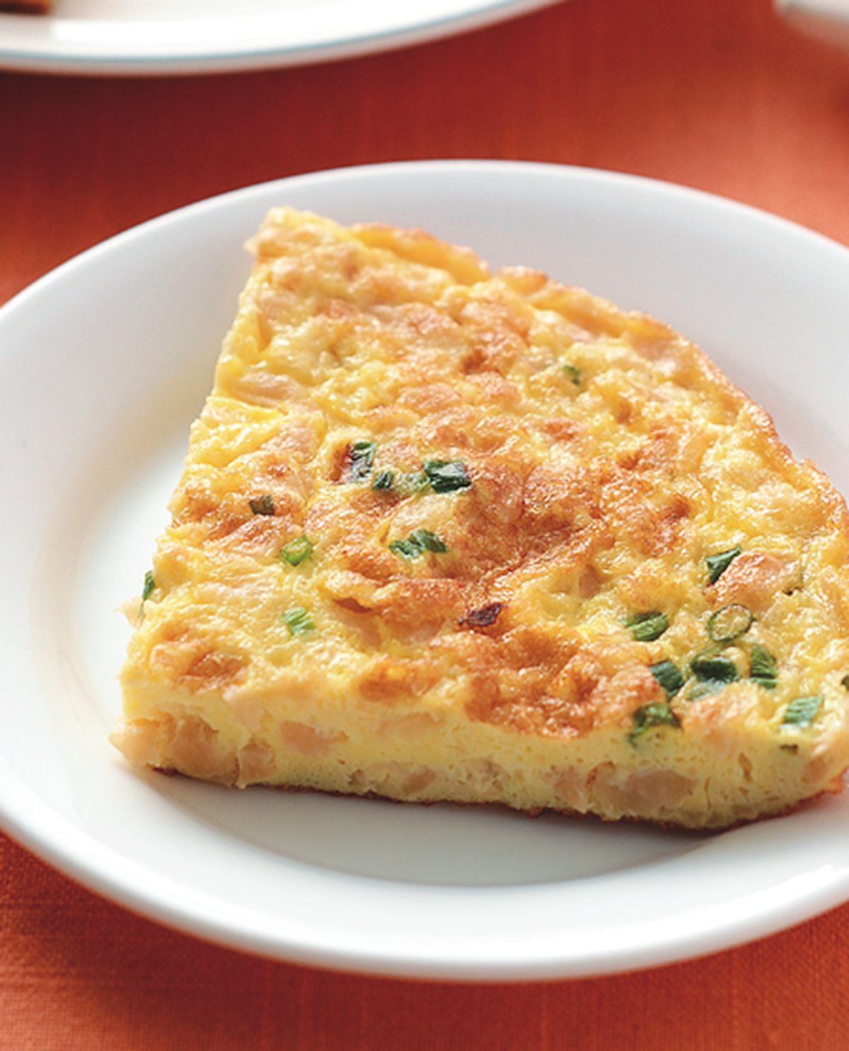 食譜:香煎菜脯蛋