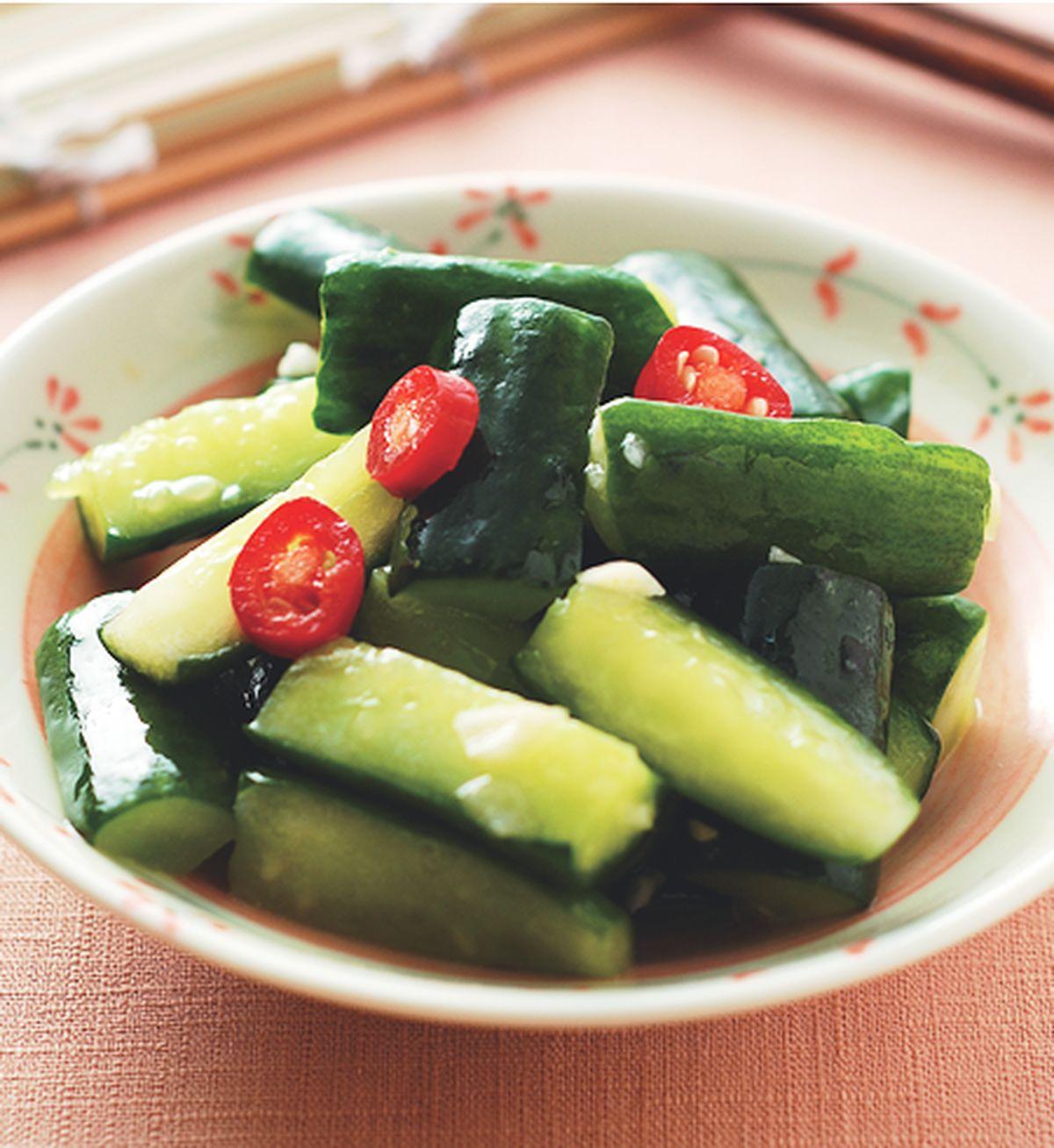 食譜:蒜味小黃瓜