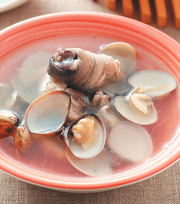 食譜:蛤蜊雞湯