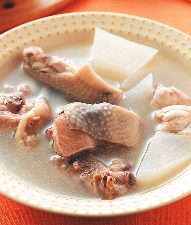 食譜:蘿蔔燉雞湯
