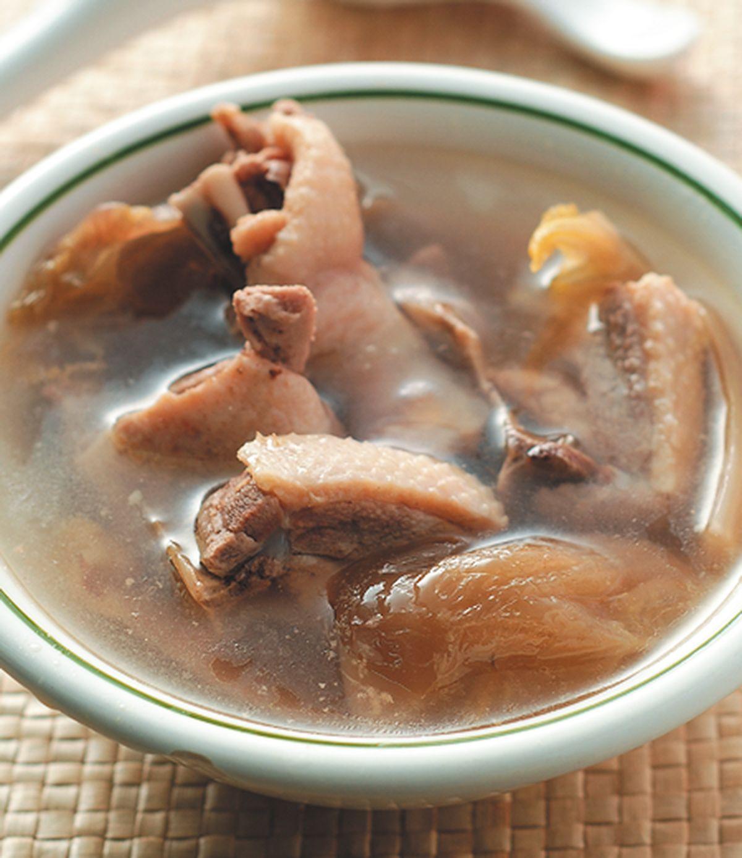 食譜:鹹菜燉鴨