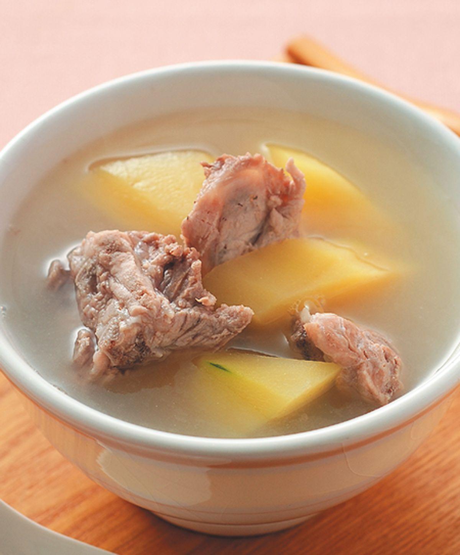 食譜:青木瓜排骨湯