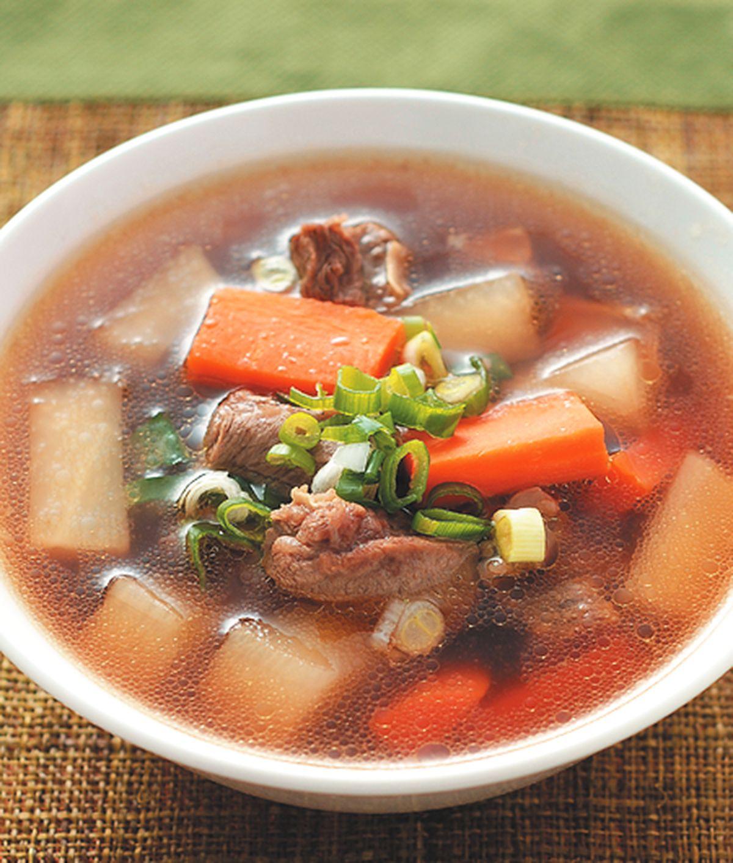 食譜:紅燒牛肉湯(2)