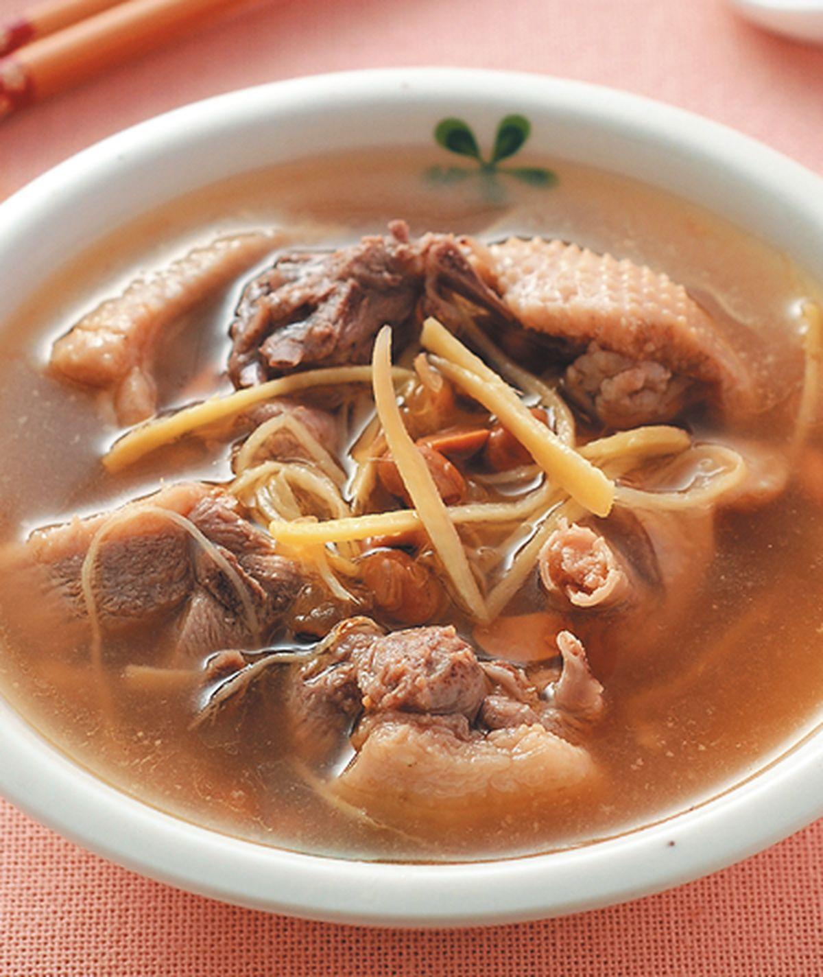 食譜:薑絲豆醬燉鴨