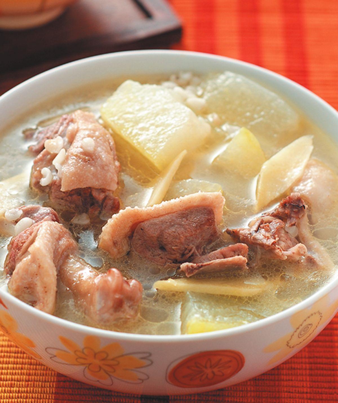 食譜:冬瓜薏米燉鴨湯