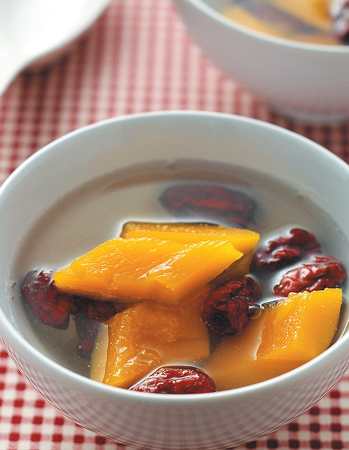 食譜:紅棗燉南瓜